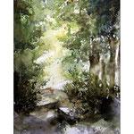 Wald (O6) / Watercolour 20x30cm
