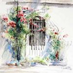 Landscape VI 2011 (6) / Watercolour 30x40cm  ©janinaB. insp. Fabio Cembranelli