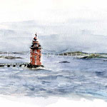 Kjeungskjaer (O6) / Watercolour 18x25cm © janinaB.