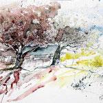 Landscape II 2009 (2) / Watercolour 24x32cm  ©janinaB.