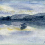 Stilles Wasser (12) / Watercolour 24x32cm ©janinaB.