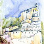 Lazio (O6) / Watercolour 18x25cm © janinaB.