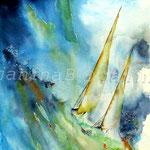 Sturm I (9) / Watercolour 24x34cm  ©janinaB. / insp. Jean Haines