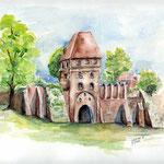 Tangermünde (O2) / Watercolour 21x29cm ©janinaB.