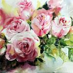 Rosen I (9) / Aquarell auf Arches 30x40cm