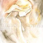 unverhüllt (16) / Watercolour 24x34cm