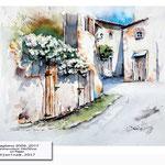 Magliano-2009_2017 (11) /  Watercolour 24x32cm  ©janinaB.