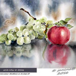 still-life-V-2016 (4)/ Watercolour 30x40cm  on Arches CP ©janinaB.