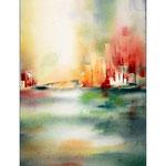 Stadt -Ansichten (T2) / Watercolour 22x34cm