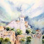 Valldemossa-(4) / Watercolour 30x40cm