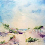Ostseestrand (11) / Watercolour 30x40cm