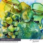 green-inspiration / Watercolour 30,5x22,5cm Fabriano CP © janinaB. 2016
