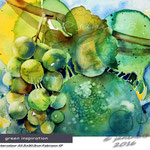 green-inspiration (7) / Watercolour 30,5x22,5cm Fabriano CP © janinaB. 2016