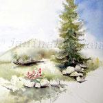 Landscape-II-2013-(3) / Watercolour 20x30cm