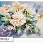 Flowers VIII 2017 (20) / Watercolour 30x40cm © janinaB. 2017