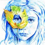kindliche Fantasie (16) / Watercolour 24x34cm