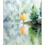 am-See (O6) / Watercolour 20x30cm