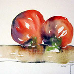 Tomaten I 2012 (O4) / Watercolour 15x20cm