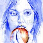 Zögern (16) / Watercolour 24x34cm