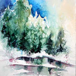 Winter (24) / Watercolour 23x31cm