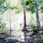 Landscape IV 2012 (2) / Watercolour 30x40cm ©janinaB.