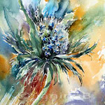 Distel (9) / Watercolour 23x30cm