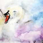 Swan II 2012 (9) / Watercolour 23x34cm