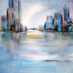 Stadtansichten I / Aquarell 23x30cm