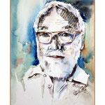 Philip / Aquarell-Collage 17x24cm