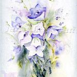 Glockenblumen (8) / Watercolour 24x32cm  © janinaB.