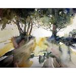 Landschaft 2 (19) / Watercolour 24x31cm