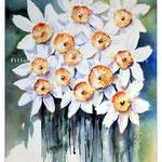 Osterglocken (17) / Watercolour 22x28cm
