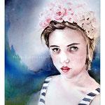 Hettie (23) / Aquarell auf Arches CP 29x38cm