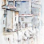 Pitigliano I 2009 (2) / Watercolour 30x40cm  ©janinaB.