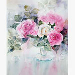 Rosen XVIII (T3) / Aquarell 30,5x45,5cm © janinaB.