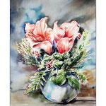 Amaryllis (17)  / Watercolour 30x40cm