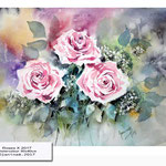 Roses X 2017 (20) / Watercolour 30x40cm © janinaB. 2017