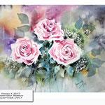 Roses X 2017 (21) / Watercolour 30x40cm © janinaB. 2017