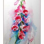 Fingerhut (1) / Watercolour 23x31cm