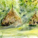 Landscape-II-2011-(3) / Watercolour 24x34cm  ©janinaB.