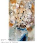 Lunaria I 2018 (O1) / 20x30cm Watercolour by ©janinaB.