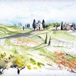 Landscape I 2010 (2) / Watercolour 24x32cm © janinaB.