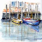Venezia--Isola-di-San-Pietro-(9) / Watercolour 24x32cm  ©janinaB.