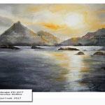 Landscape XXI 2017 (19) / Watercolour 30x40cm © janinaB. 2017