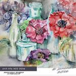 still life XII 2016 (4)/ Watercolour 30x40cm  on Fabriano CP © janinaB. 2016