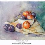 Still life III 2018 (13) / 30x40cm Watercolour by ©janinaB.