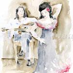Flamenco (16) 30x40cm