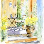 die Sinne verwöhnen (16) / Watercolour 30x40cm  ©janinaB.