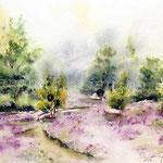 Landscape I 2012 (2) / Watercolour 30x40cm ©janinaB.