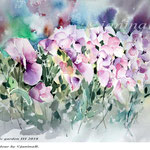 my magic garden III 2018 / 30x40cm/ (22) / Watercolour by ©janinaB.